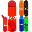 Custom Easy Pour 24oz Colorful Bottle with Floating Infuser, 2.75