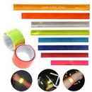 Custom Safety Reflective Slap Bracelet, 9 7/16