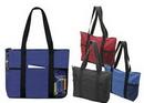 Custom Designer Zipper Tote Bag, 20