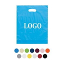 Custom Die Cut Fold-Over Plastic Bags, 9 7/8