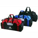 Custom 600d Polyester Deluxe Duffel Bag, 27 1/2