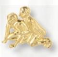 Custom Wrestling Award Pin