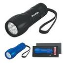 Custom Aluminum LED Torch Light With Strap, 3 3/4