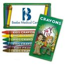 Custom 6 Pack Crayons