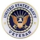 Custom Military - U.S. Navy Veteran Pin, 1