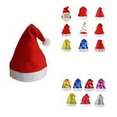 Custom Non-woven Fabric Christmas Hat, 11
