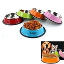 Custom Stainless Steel Dog And Cat Bowl, 7.09