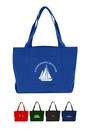 Custom Solid Color Boat Tote, 19