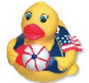 Custom Temperature All American Rubber Duck, 3 1/4