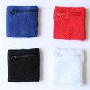 Custom Sports Zipper Wristband, 3 1/8