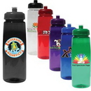 Custom 30 Oz. Poly-Saver PET Bottle with Push 'n Pull Cap (Full Color Digital)