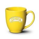Custom Bistro Mug - 16oz Lemon Yellow