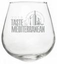 Custom 12 oz. Rocking Stemless Wine Glass, 2.75