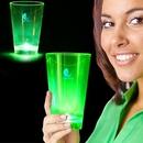 Custom Green Neon Plastic LED Tumblers - 12 Ounce