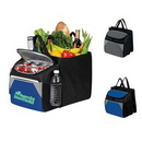 Cooler Bag, 12-Pack Collapsible Cube, Lunch Cooler, Travel Cooler, Picnic Cooler, Custom Cooler, 12.5