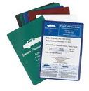 Custom Vinyl Insurance Wallet, 4.25