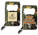 Custom Camo Metal Key Chain Bottle Openers, 2.5
