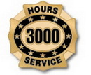 Custom 3000 Hours of Service Deluxe Clutch Pin