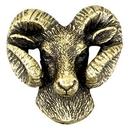 Blank Ram Mascot Fully Modeled 3 Dimensional Pin