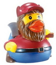 Custom Rubber Lumber Jack Duck, 3 1/2