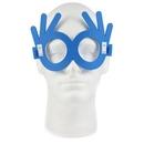 Custom 3 Finger Foam Glasses, 6.65
