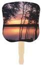 Custom Sunset Stock Design Hand Fan