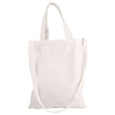 Custom Natural Cotton Canvas Tote Bag, 16