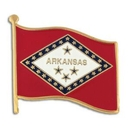 Custom Arkansas State Flag Pin
