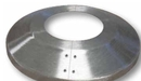 Custom Clear Aluminum Flagpole Flash Collar - 10