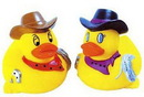 Custom Rubber Rodeo Duck, 3 1/2