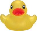 Custom Transparent Yellow Mini Rubber Duck, 2 1/2