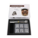 Custom Whisky Stainless Ice Cubes 6 Pieces/Set, 1