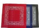 Custom 100% Micro-Polyester Open Center Paisley Bandanna