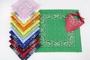 Custom 100% Micro-Polyester Paisley Bandanna