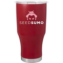 Custom 28 Oz Summit - Powder - Matte Red, 8