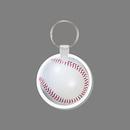 Custom Key Ring & Full Color Punch Tag - Baseball