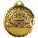 Custom Stock Lamp of Knowledge Medal