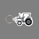 Custom Key Ring & Punch Tag - Farm Tractor (Left Side)