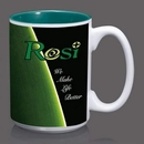 Custom AstroSub Mug - 15oz Green