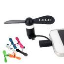 Custom Digital Mini USB Fan, 3 1/2