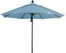 Custom Commercial Aluminum Market Umbrella W/Fiberglass Ribs 9'
