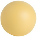 Custom Cream Squeezies Stress Reliever Ball, 2.75