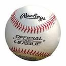 Custom Rawlings Official League Leather Baseball