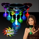 Custom 9 Oz. Light-Up Margarita Glass With Clear Base