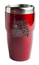Custom Wave Stainless Double-Wall Insulated Tumbler (Black)