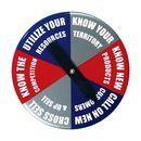 Custom Round Spinner Button (3 1/2