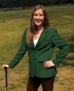 Blank Women's Augusta Green Blazer
