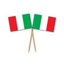 Custom Italian Flag Picks, 2 1/2