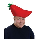Custom Plush Chili Pepper Hat