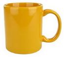 Custom 11 Oz. C Handle Cup Collection Gamboge